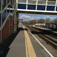 Photo taken at Fareham Railway Station (FRM) by Rich P. on 3/14/2013