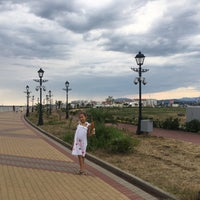 Снимок сделан в Пляж Олимпийского парка пользователем Nadia B. 8/26/2017