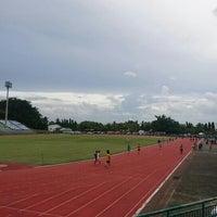 Photo taken at Surakul Sports Stadium by MNTMIINNT on 6/13/2016