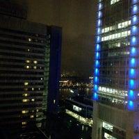 Photo taken at Wyndham Grand Frankfurt by Ricardo B. on 1/30/2017
