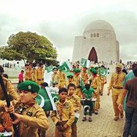 Photo taken at Mazar-e-Quaid by amk on 8/14/2013
