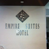 Photo taken at Empire Suites by Aiko M. on 1/17/2013
