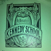 Photo taken at McMenamins Kennedy School by Brian L. on 5/30/2013