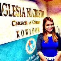 Photo taken at Iglesia ni Cristo by Revina R. on 10/19/2014
