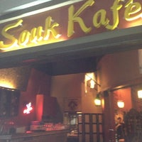 Photo taken at Souk Kafe by Kent E. on 11/10/2012