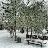 Photo taken at Парк Победы (на ул. им. Чуйкова) by Alex K. on 1/18/2013