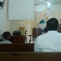 Photo taken at Igreja Adventista Central de Curuçá by Wellington P. on 7/12/2014
