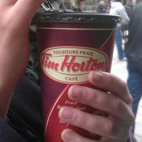 Photo taken at Tim Hortons by Pavlo P. on 10/24/2012