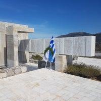 Photo taken at Μαυσωλείο Θυμάτων Ναζισμού by Άρης Γ. on 9/24/2017