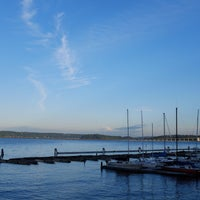 Photo taken at Leschi Park by 🐚Ahmet on 7/7/2016