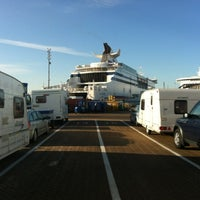 Photo taken at Brittany Ferries Terminal by Barry d. on 2/8/2013