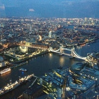 Photo taken at The View from The Shard by Romain D. on 3/29/2013