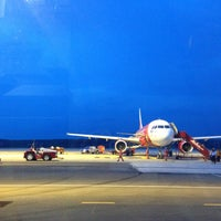 Photo taken at Krabi International Airport (KBV) by Jurairat P. on 4/24/2013