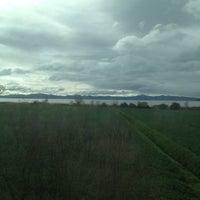 Photo taken at Lago Trasimeno by Davide T. on 3/14/2013