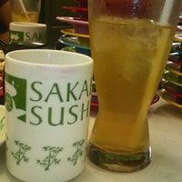 Photo taken at Sakae Sushi by Rosa M. on 10/29/2014
