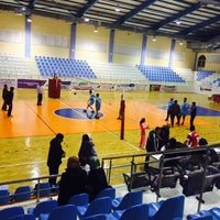 Photo taken at Korkuteli Kapalı Spor Salonu by Tunahan K. on 3/26/2015