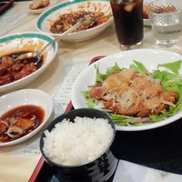 Photo taken at 八幡飯店 by あっきぶ♪ on 3/29/2015