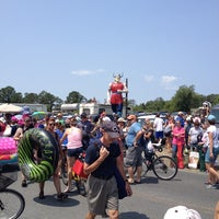 Photo taken at Chincoteague Viking by Eric S. on 7/30/2014