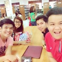 Photo taken at UPHSL Library by Ekai P. on 10/21/2014