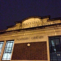 Photo taken at Norbury Library by Sharon T. on 1/4/2014