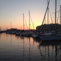 Photo taken at Puerto Deportivo Marina Miramar by Sharon T. on 8/1/2016
