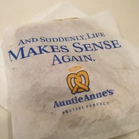 Photo taken at Auntie Anne's by Alexis R. on 1/3/2013