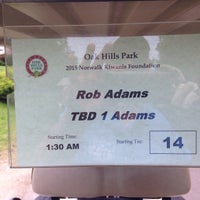 Photo taken at Oak Hills Park Golf Course by Rob A. on 7/18/2015