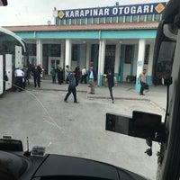 Photo taken at Karapınar Otogarı by Fatih K. on 5/2/2017