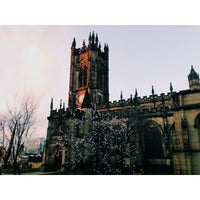 Photo taken at Manchester Cathedral by Artem I. on 1/11/2014