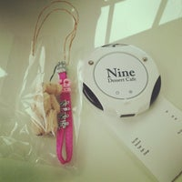 Photo taken at Nine Dessert Cafe by 豆之介 田. on 7/14/2013