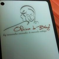 Photo taken at Oficina de Beleza by Tatiane D. on 12/29/2012