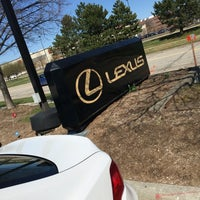 Photo taken at Meade Lexus of Southfield by Gnana Sudheer R. on 4/16/2016