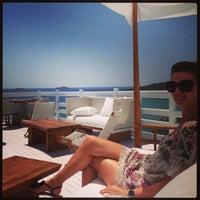 Photo taken at Perrakis Hotel by Mihaela U. on 5/5/2013