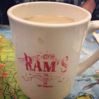 Photo taken at Ram's Family Restaurant by Kyle F. on 12/14/2012