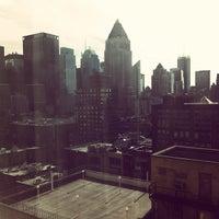 Снимок сделан в The Watson Hotel пользователем Vanessa F. 11/5/2012