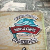 Photo taken at Barracrudas Beach Lounge by Ranas & Charles by Fredy P. on 12/30/2012