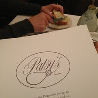 Photo taken at Patsy's Italian Restaurant by Keith H. on 1/12/2013