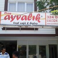 Photo taken at Drag Ayvalik Tost Cafe by Askin I. on 7/9/2014