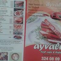 Photo taken at Drag Ayvalik Tost Cafe by Askin I. on 7/11/2014