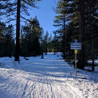 Photo taken at Tahoe Cross Country Ski Area by Dmitry P. on 1/1/2017