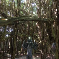 Photo taken at Kauai Hindu Monastery by Shanif D. on 2/6/2016