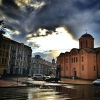 Снимок сделан в Контрактовая площадь пользователем ⚡Vladimir B. 5/26/2013