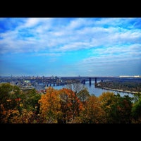 Снимок сделан в Владимирская горка пользователем ⚡Vladimir B. 10/19/2012