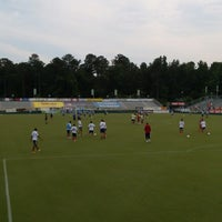 Photo taken at WakeMed Soccer Park by Kimit S. on 6/12/2013