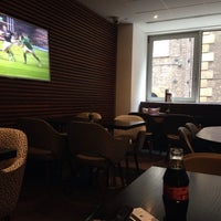 Photo taken at DoubleTree Executive Lounge by Brian C. on 3/21/2015