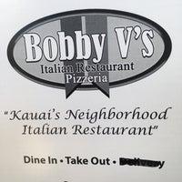 Photo taken at Bobby V's Italian Restaurant Pizzeria by Vince K. on 5/21/2017