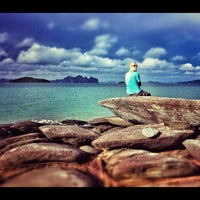 Photo taken at On The Sea : Andaman by Winnie S. on 9/22/2012