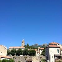 Photo taken at Olargues by Karstin O. on 8/20/2013