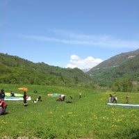 Photo taken at Alpe Giumello by Paul B. on 5/5/2013