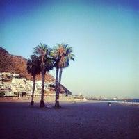 Photo taken at Playa de San José by Nacho H. on 6/24/2013